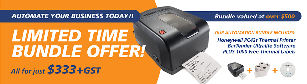 Honeywell PC42t Thermal Label Printer