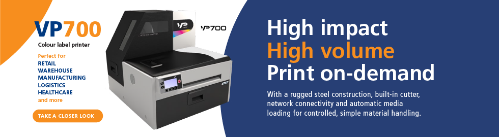 VIP VP700 Colour Label Printer