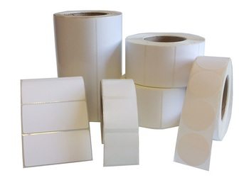 100mm diameter Gloss inkjet paper permanent labels