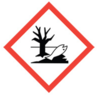 100x100 GHS09 Environment - Dangerous Goods Labels