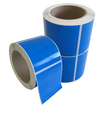 Bright Blue Labels 77 x 48mm