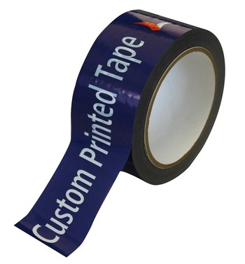 Custom printed tape Polypropylene 12mmx66m - 3 colour print