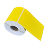 Direct thermal label 99x148mm - Tinted Yellow