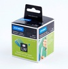 Dymo suspension file labels white paper - 12x50 mm