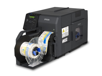 Epson Tm C7500 Matte Inkjet Label Printer Label Power