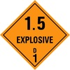 Explosive 1.5 - Dangerous goods labels