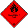 Flammable Gas 2 - Dangerous goods labels
