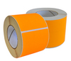 Fluorescent Orange Permanent Labels 77 x 48mm