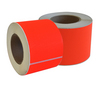 Fluorescent Red Permanent Labels 77 x 48mm