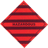 Hazardous - Dangerous goods labels