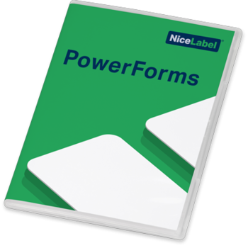 Nicelabel Label Software - 2019 PowerForms 3 Printer License