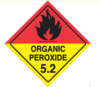 Organic Peroxide 5.2 - Dangerous goods labels