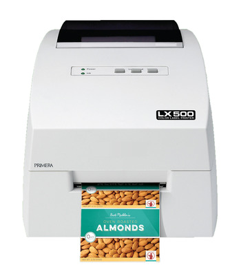 Primera LX500 colour label printer