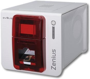 Zenius Classic Plastic Card Printer - Complete Printer Package